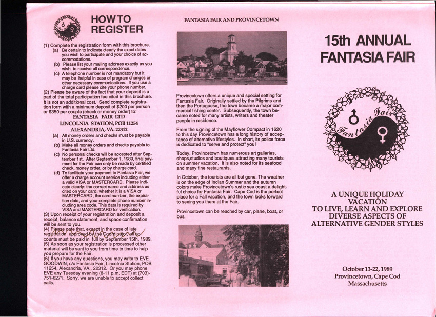 Download the full-sized PDF of 15th Annual Fantasia Fair Brochure (Oct. 13 - 22, 1989)