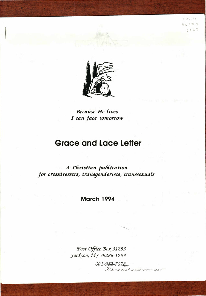 Download the full-sized PDF of Grace and Lace Issue D (March, 1994)