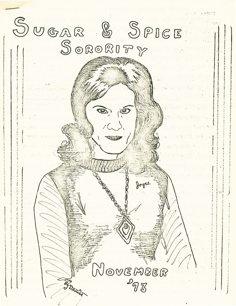 Download the full-sized PDF of Sugar and Spice Sorority (November, 1973)