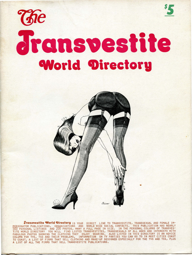 Download the full-sized PDF of The Transvestite World Directory No. 41