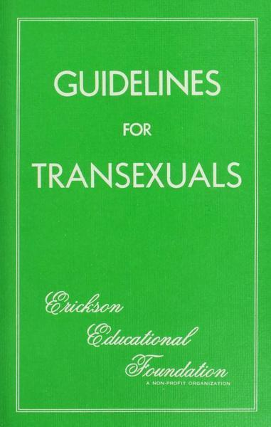 Download the full-sized image of Guidelines for Transexuals