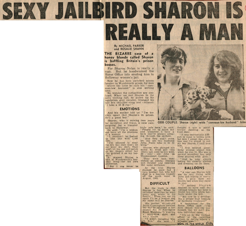 Download the full-sized PDF of Sexy Jailbird Sharon is Really a Man