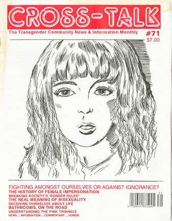 Download the full-sized PDF of Cross-Talk: The Transgender Community News & Information Monthly, No. 71 (September, 1995)