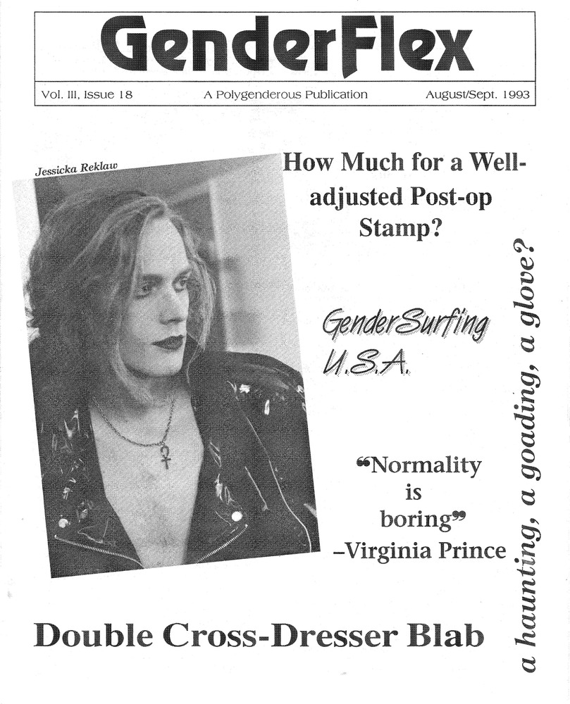 Download the full-sized PDF of GenderFlex Vol. III, Issue 18 (August-September 1993)