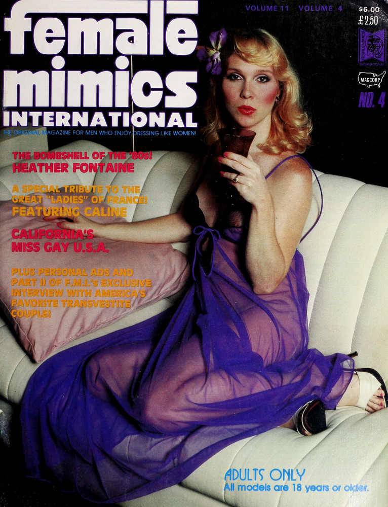 Download the full-sized image of Female Mimics International Vol. 11 No. 4