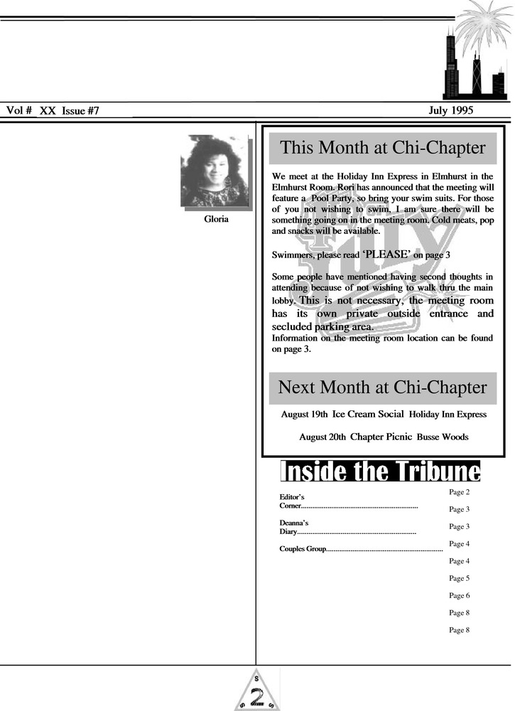 Download the full-sized PDF of The Chi Tribune Vol. 20 Iss. 07 (July, 1995)