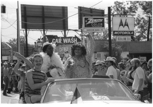 Download the full-sized image of Donna Day at 1979 Houston Pride (2)